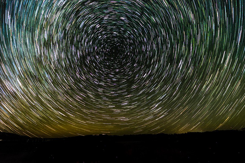 Teton Star Trails