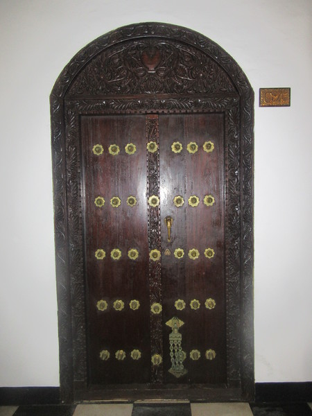 022_Zanzibar Stone Town. Tembo House Hotel. 1834. The door of my room.JPG