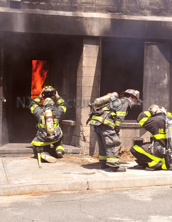 Rockland County, NY *Fire Explorers Live Burn*