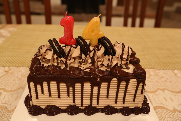 20120922 Dylan's Birthday Dinner