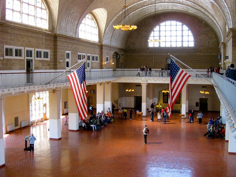 Ellis Island Immigration Hall