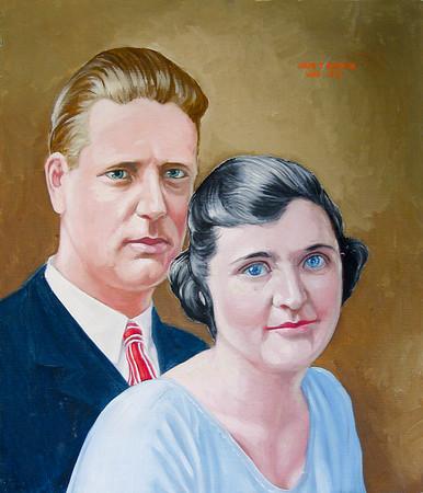 Pedersen Family Paintings