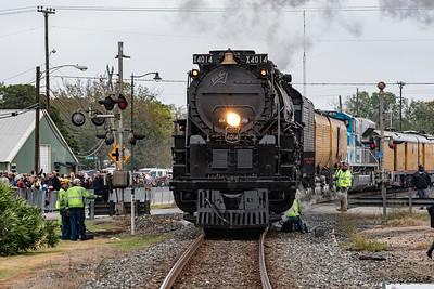Union Pacific's 4014 Big Boy Locomotive Tour Thru Texas