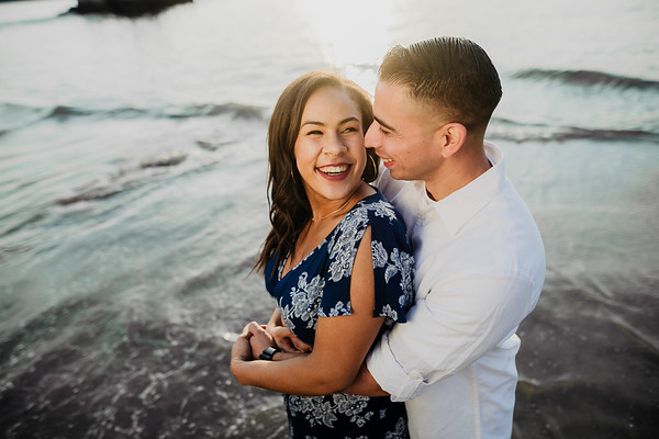 Kara and Phillip | Newport Beach Engagement