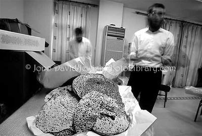 CHINA, Shanghai. Passover preparations @ Ohel Yisrael, Shanghai Jewish Center. (2007)