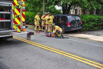 Motor  Vehicle Accident With Entrapment