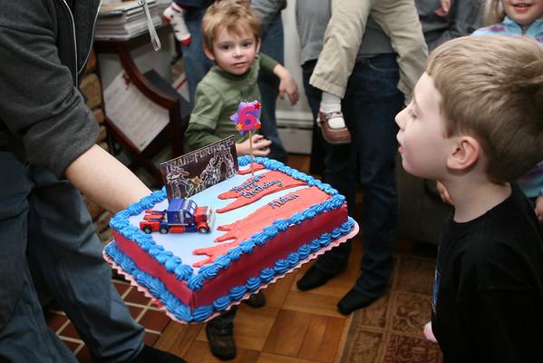 Mr. Man turns 6