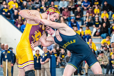 125-157lbs - Michigan Vs Central Michigan - 11-24-19