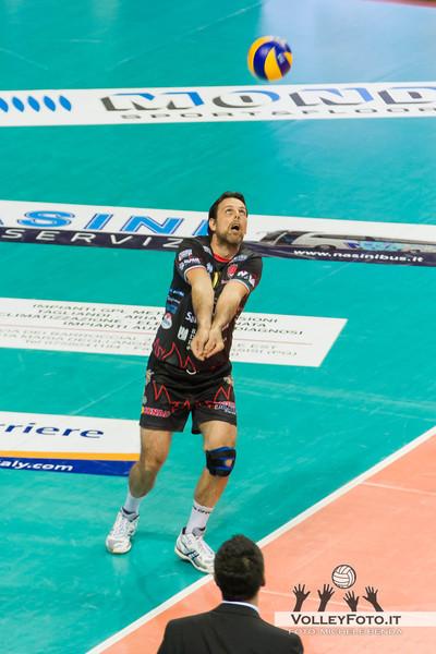 Goran Vujevic (Perugia) Sir Safety PERUGIA vs CMC RAVENNA  9ª Giornata andata, Campionato Italiano di Volley Maschile, Serie A1 - 2012/13