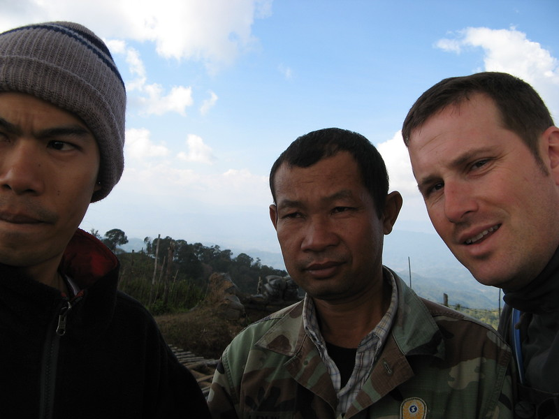 Ton, the army guy and Scott