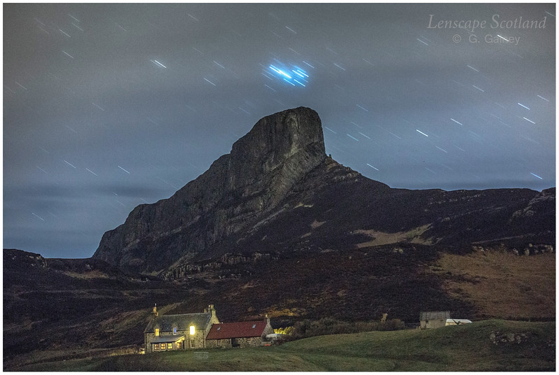 An Sgurr, Isle of Eigg, and Galmisdale House