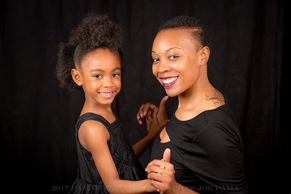 Seleena & Sanaiyiah (mother/daughter photo-shoot)