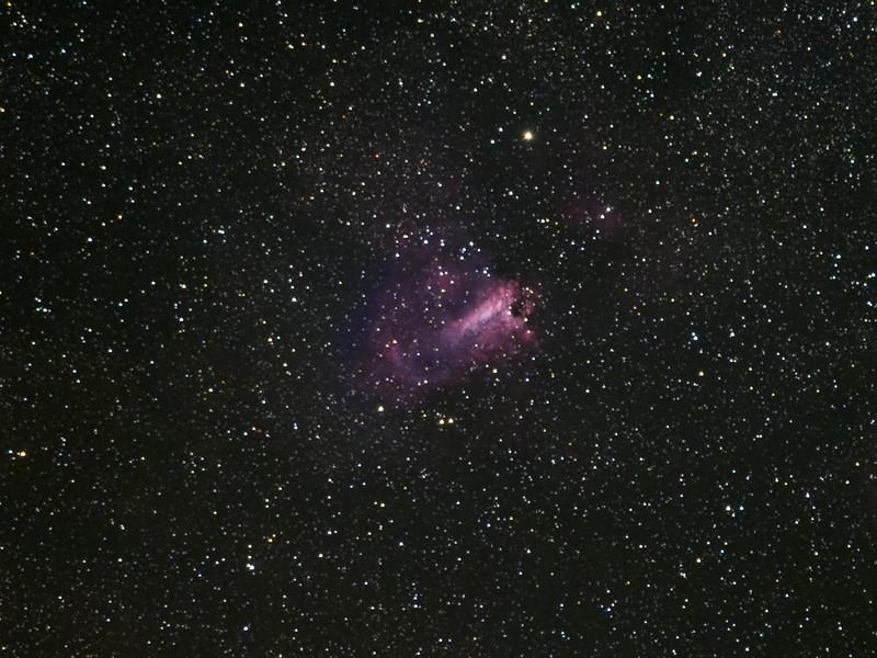M17 Swan nebula