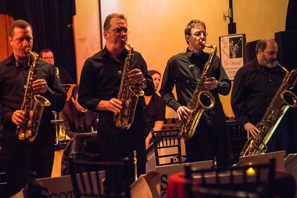 Scott Gwinnell Jazz Orchestra  - Jazz Cafe at Music Hall 12-15-2015