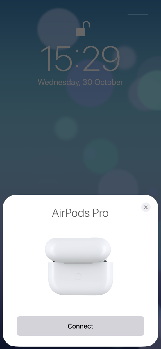 Setting Up AirPods Pro