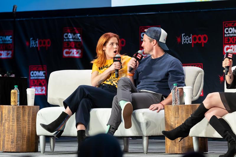 2020 C2E2 - Stephen Amell and Emily Bett Rickards (Farewell to Arrow)