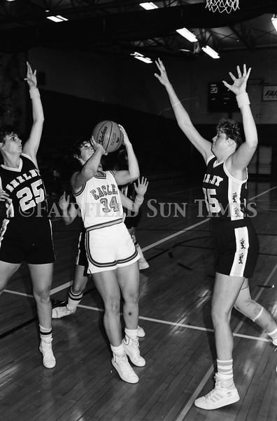 1986 October Fairfield vs Shelby Girls Basketball