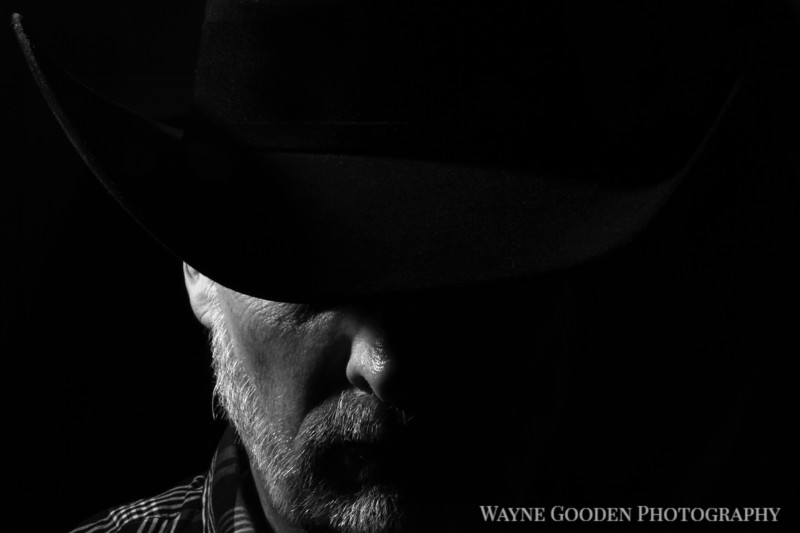 Man with a Black Hat