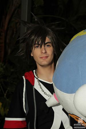 Court Soto as Sora @ Anime Expo 2013