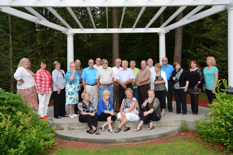 50th Anniversary Reunion - In case you don't recognize us.