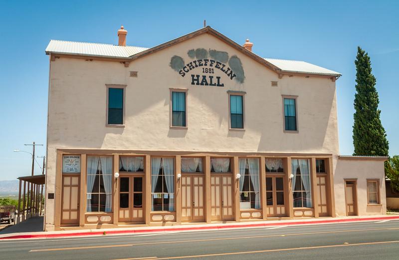 Historic Scheiffelin Hall at Tombstone, Arizona