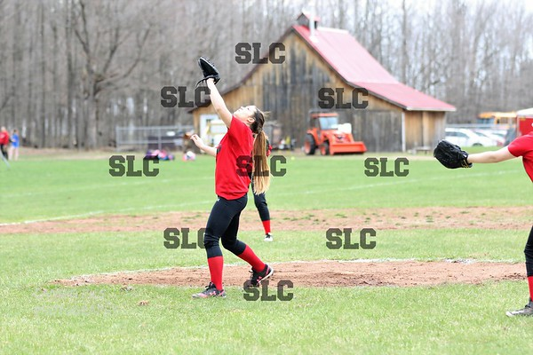 SLC JV GIRLS SOFTBALL 5/1/2018 WIN OVER BRUSHTON