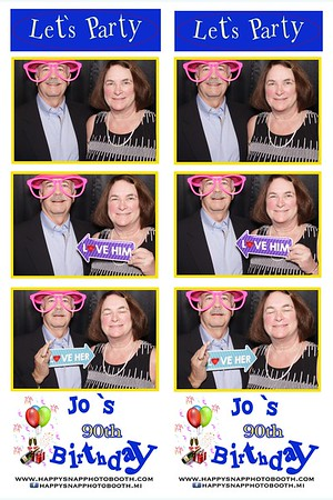 Jo's 90th Birthday 11/18/2017