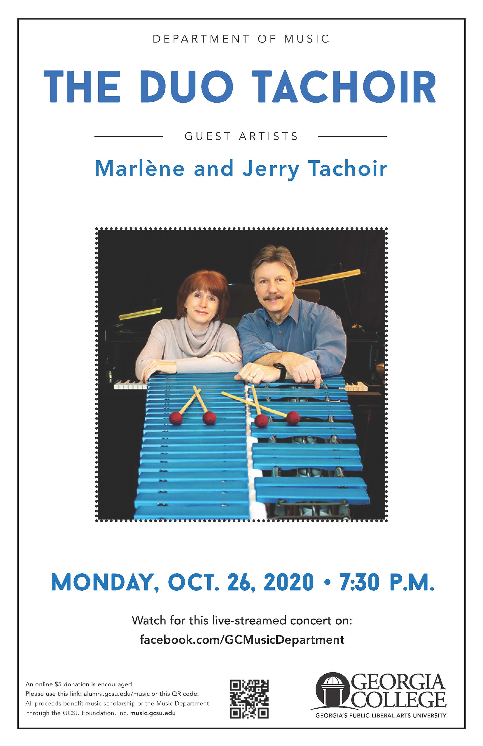 Please join us Monday evening, Oct. 26, 7:30 pm for this guest artist concert!