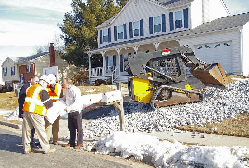 2011 02-03  Construction begins immediately following Groundbreaking. Trish Hamilton
