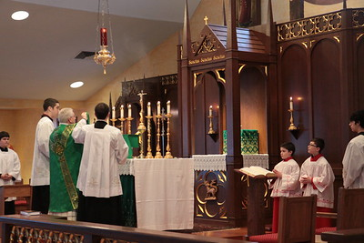 Mass in Extraordinary Form 2014