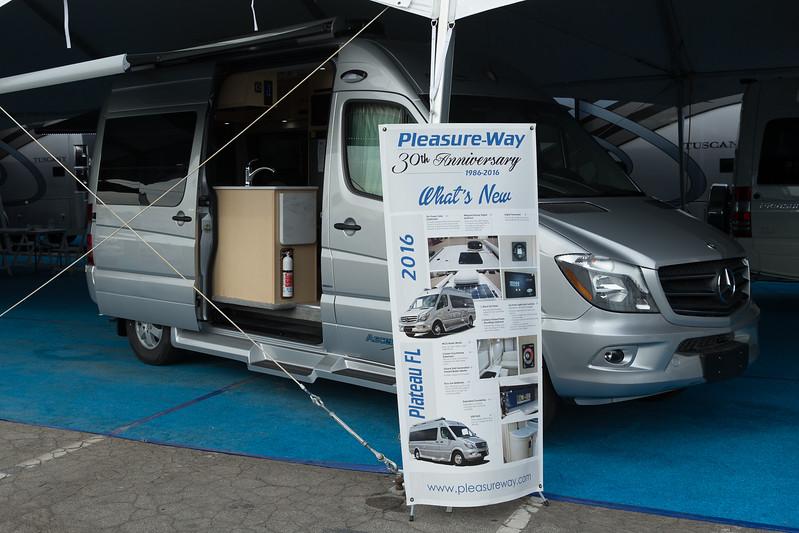 California RV Show 2016 in Pomona, Kalifornien