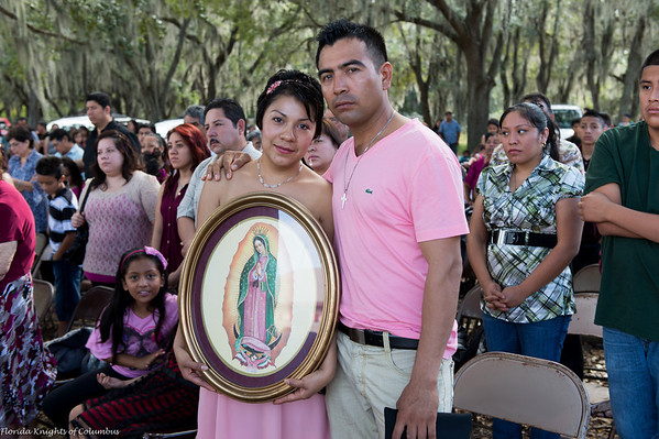 Our Lady of Guadalupe Procession & Mass