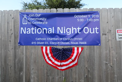 2019 Nation Night Out at Catholic Charities