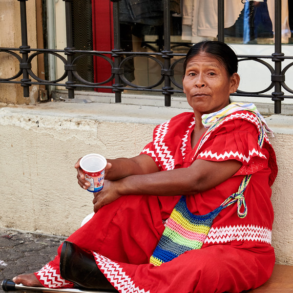 Native Woman, San Jose