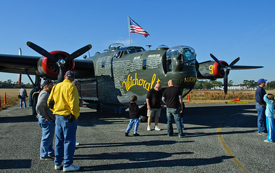 WWII Aircraft Display Jan 2009
