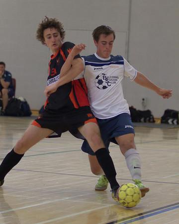 2012 1201 - Futsal PL MIX Phoenix v Belconnen FC