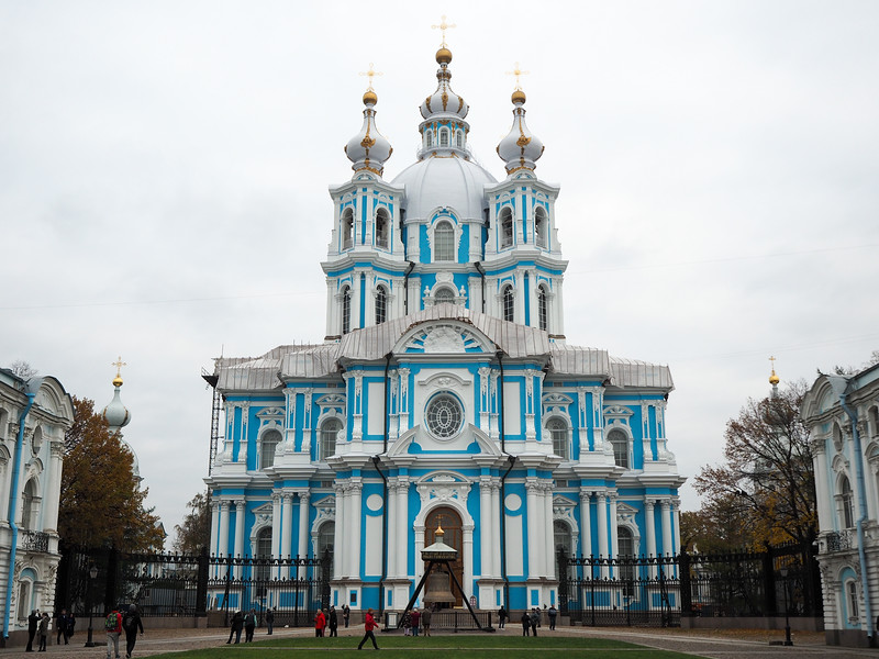 Smolny Convent in St. Petersburg