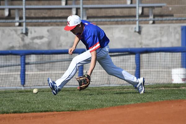 Varsity Baseball vs Hastings