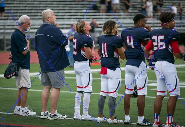 LBHS Varsity vs Bishop Moore HS - Sept 1, 2017 FIRST HALF