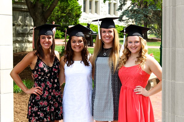 Natalie, Meredith, Karlee & Evelyn - Class of 2015