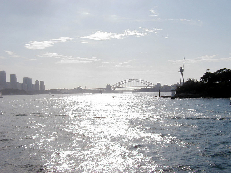 Views from Manly Ferry