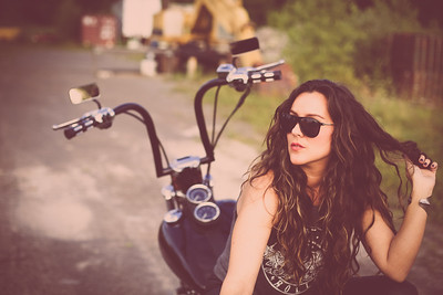 Powell - Motorcycle Shoot