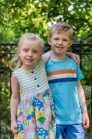 griff and maddie at the park july 2021