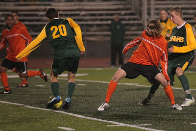 SRV Soccer vs Cal High 1-19-12