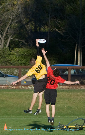 Ultimate Frisbee at Stanford 3/8/2008