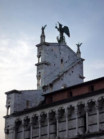 Viareggio & Lucca, Italy - May 2009