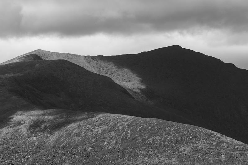 Scenic view of mountain range, Castlegregory, County Kerry, Ireland