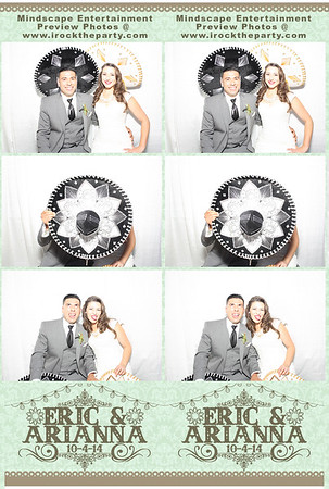 Eric & Arianna' Wedding - Photo Booth Pictures