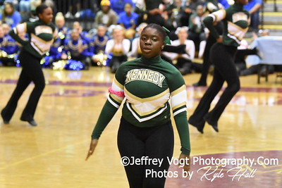 2-13-2016 Kennedy HS Varsity Poms at Blair HS MCPS Championship, Photos by Jeffrey Vogt Photography with Kyle Hall
