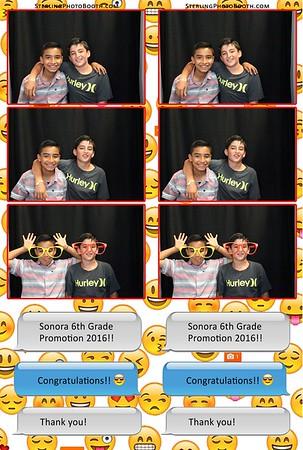 Sonora's 6th Grade Promotion